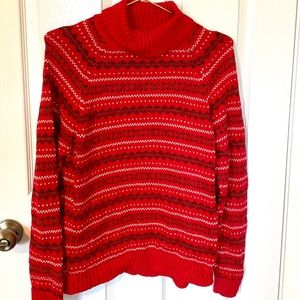 Festive Red Sweater
